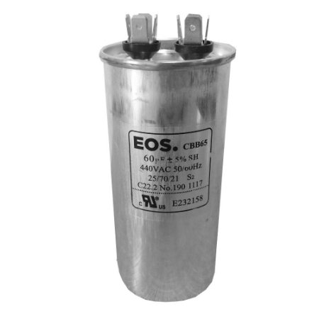 Capacitor 60UF 440VAC EOS