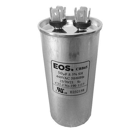 Capacitor 50UF 440VAC EOS