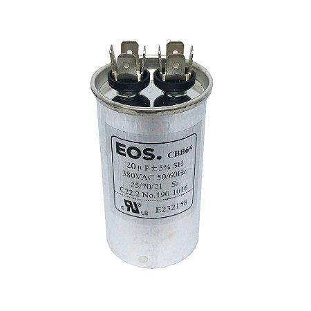 Capacitor 20MFD 380VAC EOS