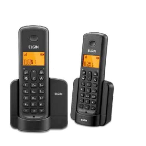 Telefone Sem Fio Elgin Tsf 8002 Preto C/id E Viva Voz