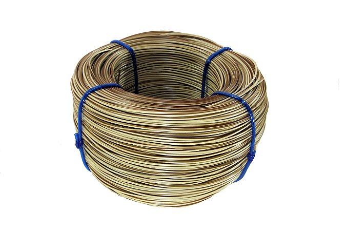 Fio cordão de junco vime rattan sintético de 3mm 500 metros Cerâmica