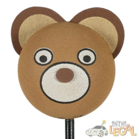 Enfeite de Antena para Carro Urso