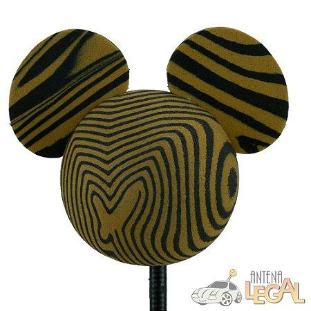 Enfeite de Antena para Carro Mickey Tigre Disney