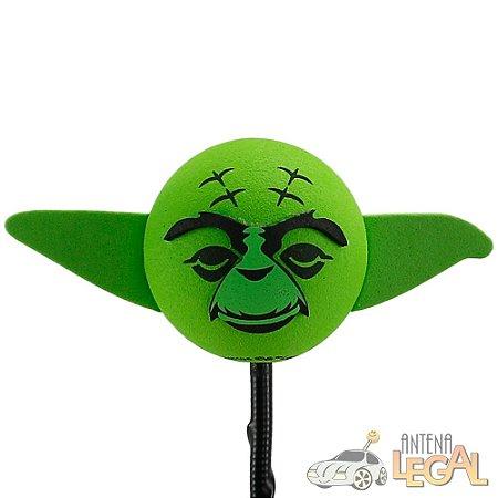 Enfeite de Antena para Carro Mestre Yoda