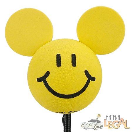 Enfeite de Antena para Carro Mickey Feliz Disney