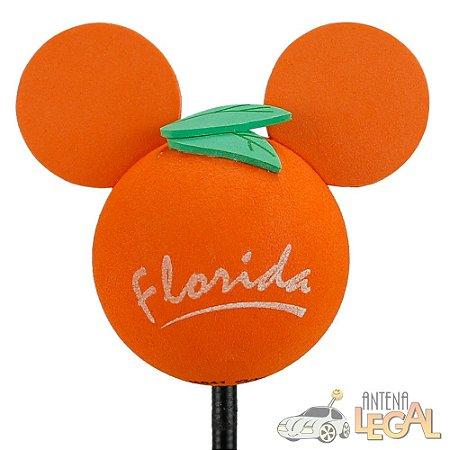 Enfeite de Antena para Carro Mickey Florida Disney