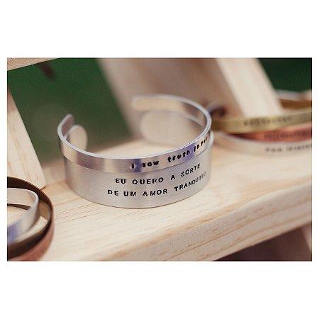 Bracelete G Personalizado
