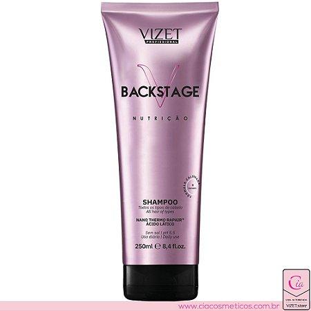 Backstage Shampoo 250ml Vizet Profissional