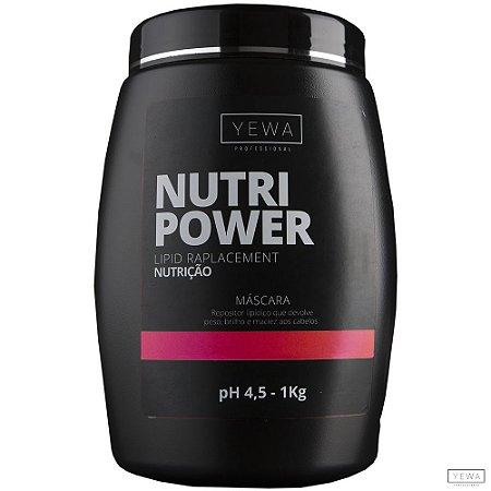 Máscara Nutri Power 1kg Yewa Professional