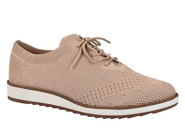 Sapato Flat Oxford Tecido Rosa - B9511