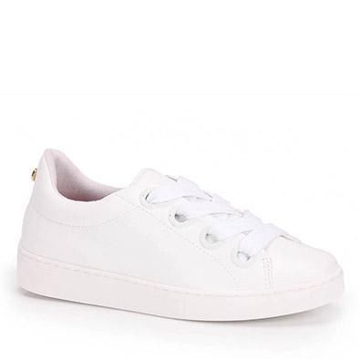 f34472e76 tenis casual vizzano feminino flat verniz branco - 1214252-branco ...
