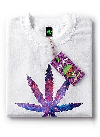 Camiseta Universo da Maconha