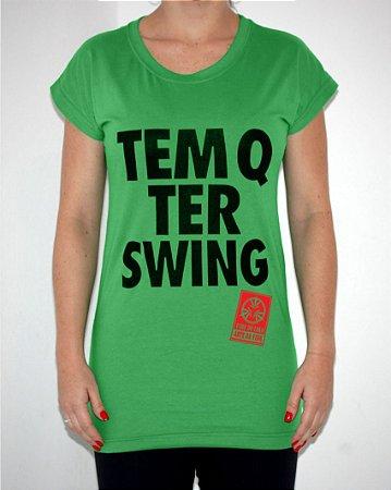 Túnica Verde TEM Q TER SWING
