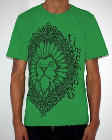 Camiseta Verde Leão Time