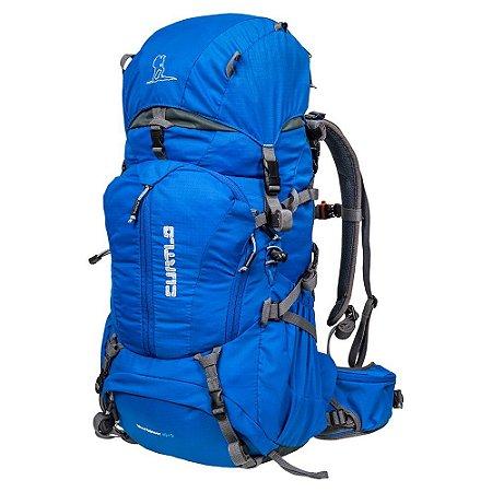 Mochila Mountaineer 40+5 Azul - Curtlo