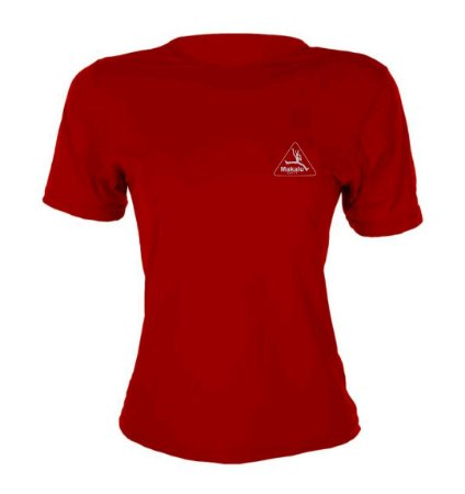 Camisa Dry Pro Feminina Vermelha - Makalu Sports