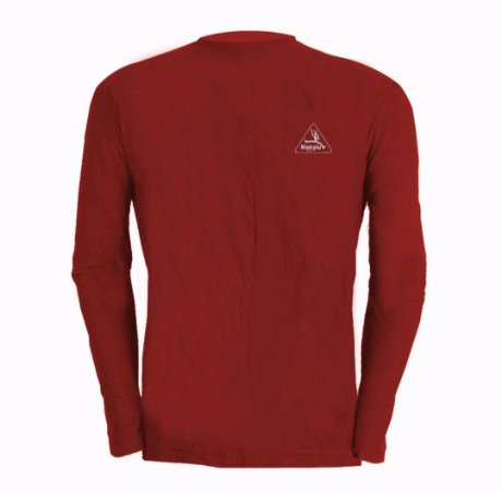 Camisa Manga longa Dry Pro Masculina Vermelha - Makalu Sports