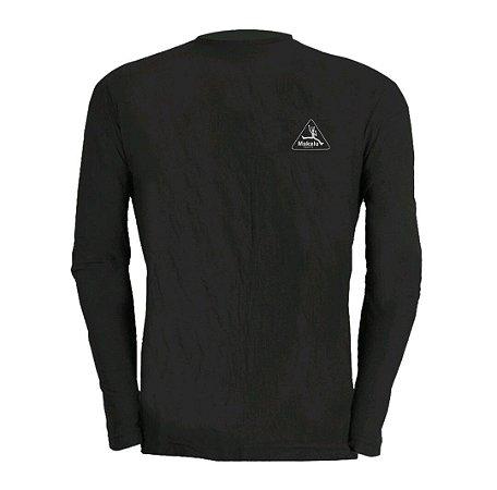 Camisa Manga longa Dry Pro Masculina Preto - Makalu Sports