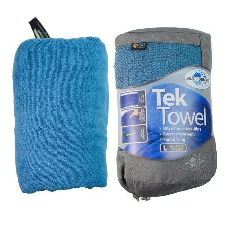 Toalha Tek Towel L Azul