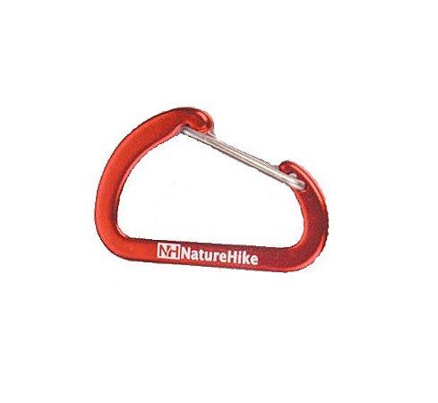 Mini Mosquetão 4 cm Vermelho - Naturehike