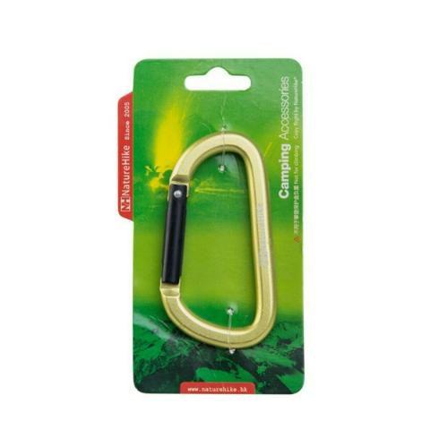 Mini Mosquetão 8cm Verde - Naturehike