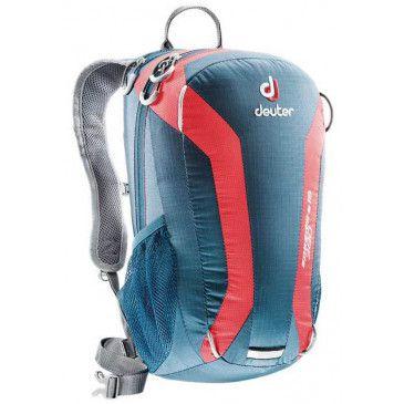 Mochila Speed Lite 15 Azul e Vermelho - Deuter