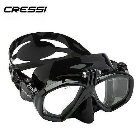 Máscara de Mergulho Action Preta - Cressi