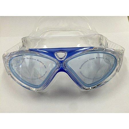 Óculos de Natação Auru Transparente C/Azul - Cetus