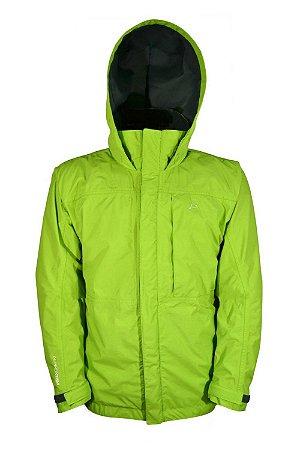 Jaqueta Impermeável Alpino Extreme Masculino Verde - Conquista