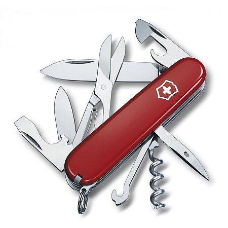 Canivete Climber 14F Vermelho - Victorinox