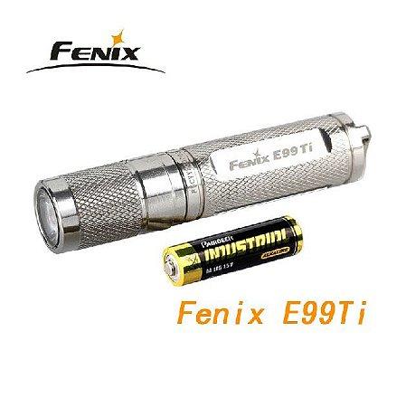 Lanterna de Mão E99 Titânio 100 Lumens - Fenix