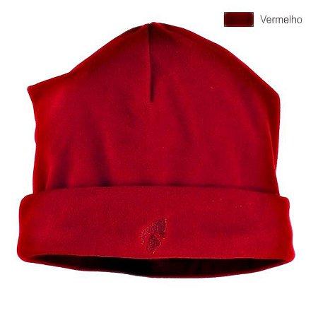 Gorro Micro fleece Vermelho Escuro - Solo