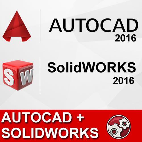 Pacote Autocad + SolidWorks