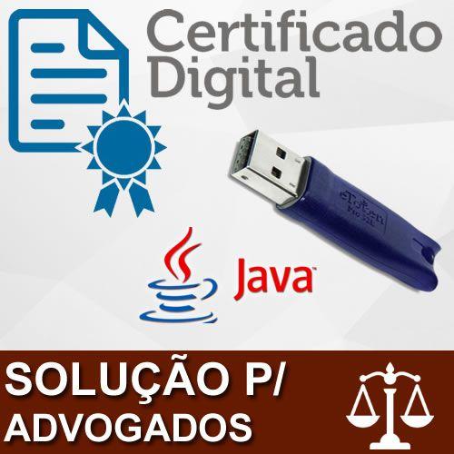Solução para Advogados - Certificação Digital e Peticionamento