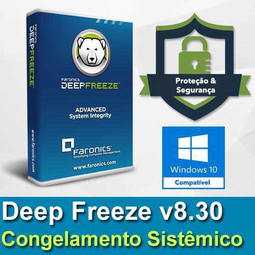 Deep Freeze 8.30 Congelamento Sistêmico