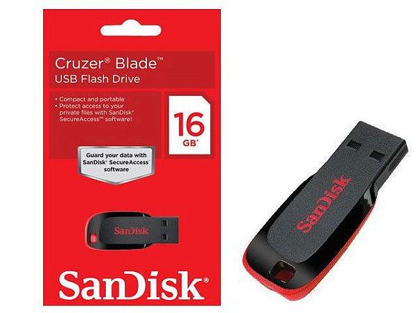 Pen Drive SanDisk - 8GB e 16GB