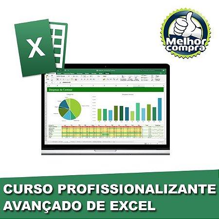 Curso Profissionalizante AVANÇADO de Excel