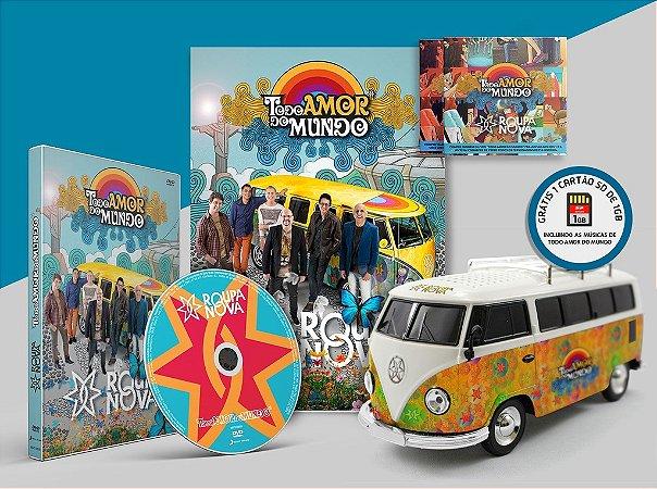 DVD + Kombi + Revista + 2 CDs - Todo Amor do Mundo