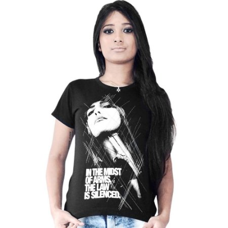 Camiseta Gangsta Girl