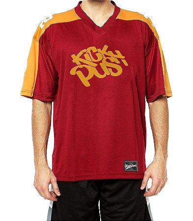 Camiseta Kick Push Vermelha