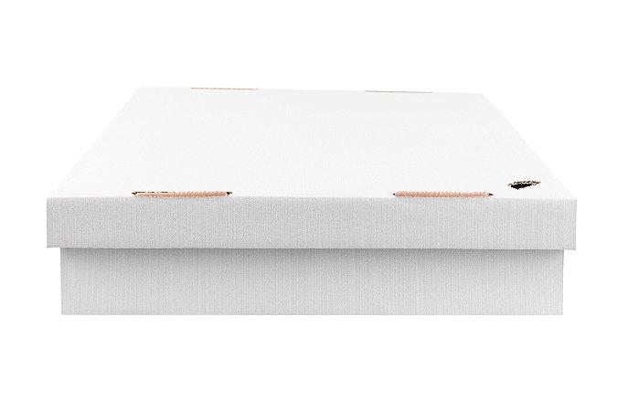 Caixa nº2 - 35 x 35 x 7 -  Marfim (Branca)
