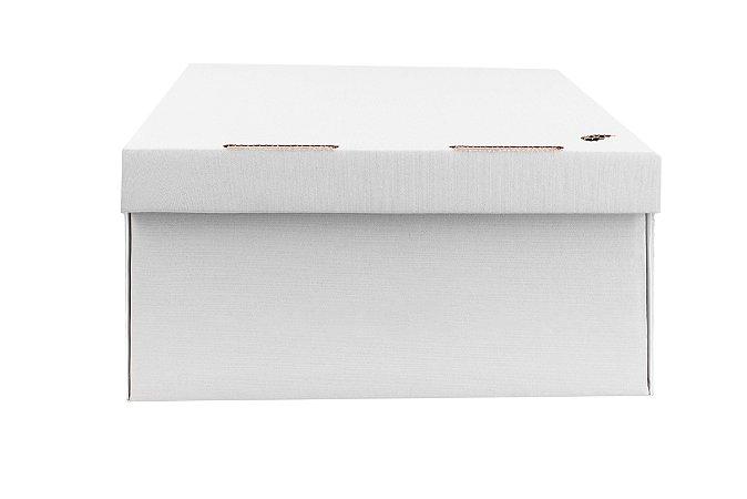 Caixa nº3 - 31 x 25 x 12 - Marfim (Branca)
