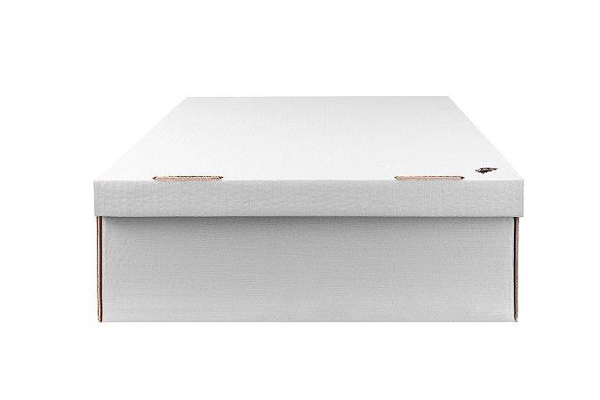 Caixa nº4 - 42 x 35 x 12 - Marfim (Branca)