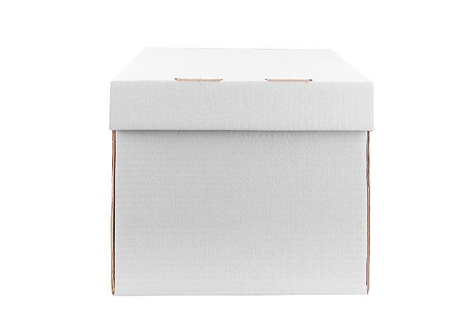 Caixa nº6 - 25 x 25 x 22 -  Marfim (Branca)