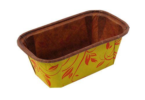 Forma Bolo Inglês Plumpy Tam. P - Amarela - 10UN - R$ 1,09 Unitário