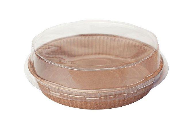 Formas para torta Tam. 90x20- P COM TAMPA– Pie – 30UN - R$ 1,09 Unitário