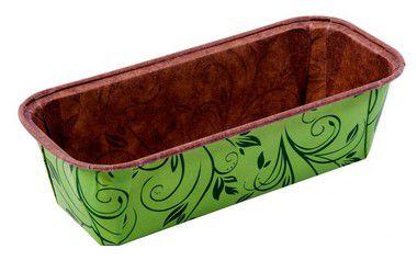 Forma Bolo Inglês Plumpy Tam. G - Verde - 20UN - R$ 3,28 Unitário