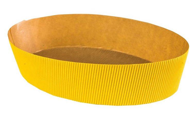 Forma Colomba - Oval 500 gr. - Amarelo - 10UN - R$ 2,00 Unitário
