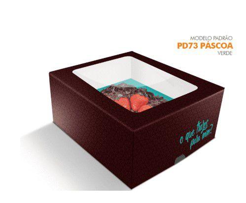 Caixa Pascoa para Ovo de colher Verde - 350/500 grs - R$ 7,12 a unidade