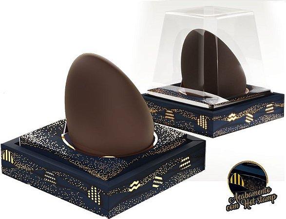Caixa Premium ovo em pé - Tam. 203x203x15 - Com 01 Und. Berço 350 Grs